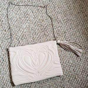 H&M pale pink crossbody bag